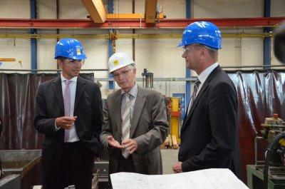 ZukunftsAgentur Brandenburg mit Unternehmern und RWK im wirtschaftlichen Dialog