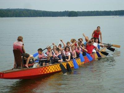 Foto zur Meldung: Drachenboot - Rennen
