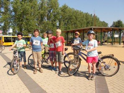 Foto zur Meldung: Praktische Fahrradprüfung 2012