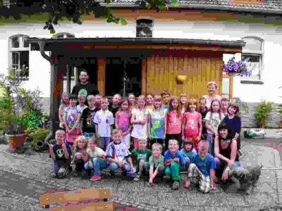 Pfiffikus-Feriencamp im Juli 2012