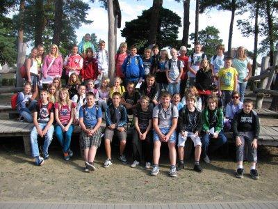 Foto zur Meldung: Kennenlernwoche in der Grund- und Oberschule Schenkenland