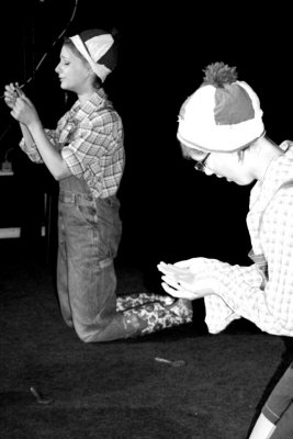 Foto zur Meldung: Monologe mit musikalischer Untermalung im Haus am Anger