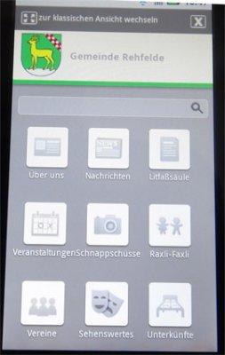 Foto zu Meldung: Mobile Ansicht für Rehfelde