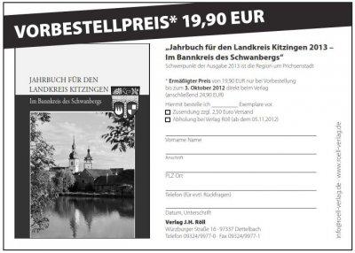 Foto zur Meldung: Das neue Jahrbuch für den Landkreis Kitzingen!