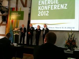 Foto zur Meldung: 4. Energiekonferenz der Stadtwerke in Strausberg