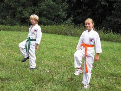Foto zur Meldung: Sommerfest der Karateka