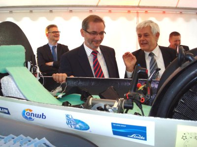 Team Lausitz Dynamics präsentiert seine Energiesparmobile
