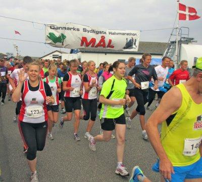 Foto zur Meldung: Laager Laufsportler in Dänemark aktiv