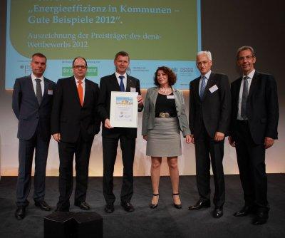 """SeeCampus Niederlausitz belegt 2. Platz beim Wettbewerb """"Energieeffizienz in Kommunen – Gute Beispiele 2012"""""""