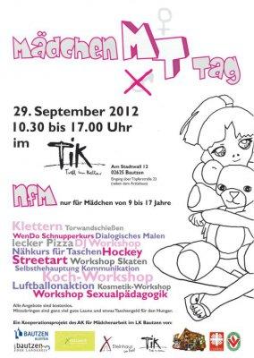 Foto zur Meldung: Mädchentag im Tik Bautzen
