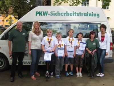 Foto zur Meldung: Landesausscheid - Siggi Sicher 2012