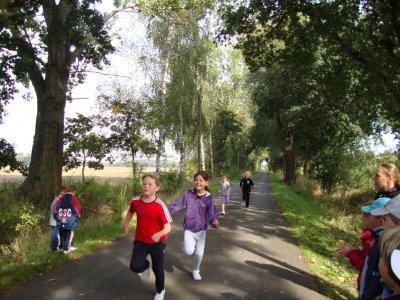Foto zur Meldung: Herbstlauf in Golzow