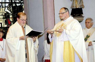 Vorschaubild zur Meldung: Neuer Pfarrer für die Pfarreiengemeinschaft Schillingen