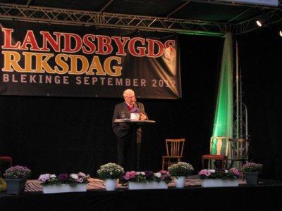 Foto zu Meldung: Landsbygdsriksdag: Cornelia Behm (MdB) besucht internationale Dorfkonferenz in Schweden