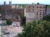 Foto zu Meldung: Abriss der Alten Malzfabrik – live im Internet