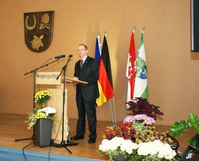 Bild der Meldung: Feierstunde zum Tag der Deutschen Einheit in Hoppegarten