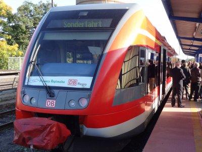 Foto zur Meldung: Mit dem Zug nach Gorzow