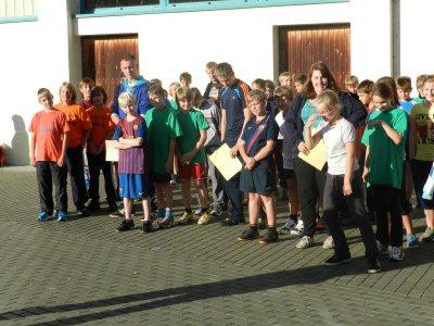 Foto zur Meldung: Vierter  Schenkenlandpokal der Grundschulen