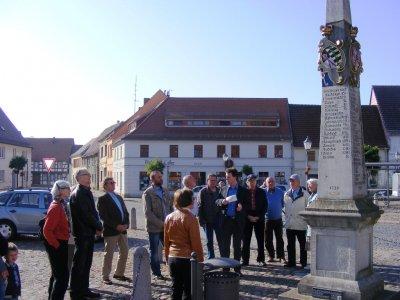 Foto zu Meldung: Schaustelle Stadtkern 2012 in Uebigau