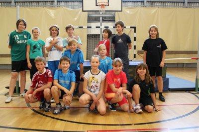 Foto zur Meldung: Schuleisterschaften im Hochsprung