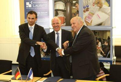 Algenforschung an der Hochschule Lausitz in Kooperation mit französischen Partnern