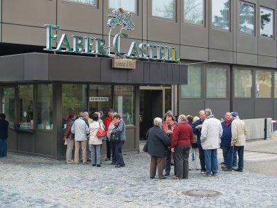 Foto zur Meldung: SGN bei Faber Castell in Stein bei Nürnberg