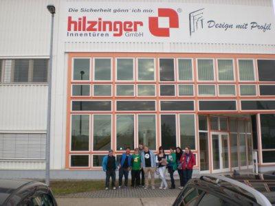 Foto zur Meldung: Zehnte Klasse besucht Hilzinger (Fenster und Türen)
