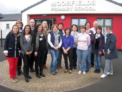 Foto zur Meldung: Erich-Kästner-Grundschule besucht Partnerschule in Nordirland