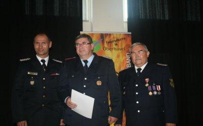 Vorschaubild zur Meldung: Große Auszeichnung für den Stadtwehrführer Duwe