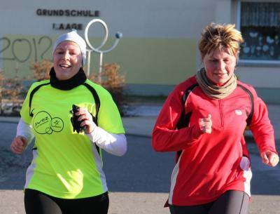 Foto zur Meldung: Zyklic-Haus-Neujahrslauf in Laage