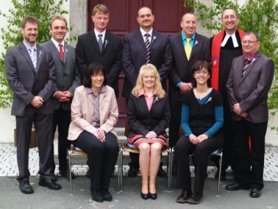 Foto zur Meldung: Silberne Konfirmation 2012