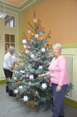 Weihnachtsvorfreude in der Kreisverwaltung
