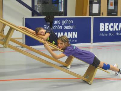 Foto zur Meldung: Spiel und Spaß im Trainingslager der weibl. Jugend C+weibl. Jugend D