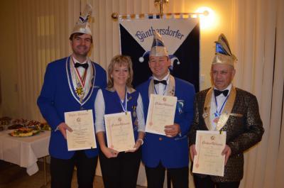 Foto zur Meldung: Sylvia, Andreas und Uwe sind GCC-Gold-Kinder :-)