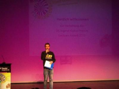 Foto zu Meldung: Jugendkulturpreis