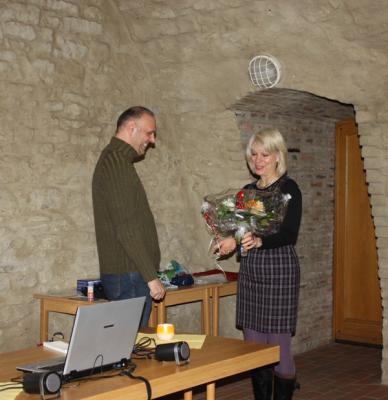 Foto zur Meldung: Buchlesung mit Frank Ahnert im Kellertheater