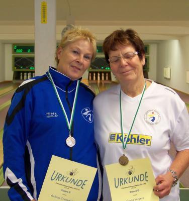 Foto zur Meldung: Kreiseinzelmeisterschaften im Kegeln in Bützow