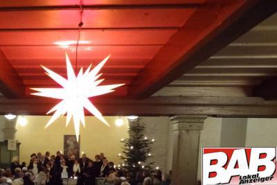 Foto zu Meldung: Weihnachtskonzert - Rehfelder Sängerkreis in der Kirche Werder
