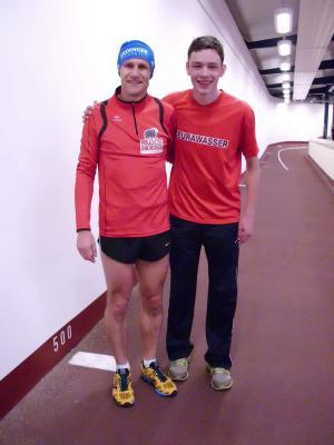 Foto zur Meldung: Landesmeisterschaften Langstrecke in der Halle