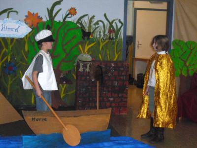Foto zur Meldung: Weihnachtszeit ist Theaterzeit - auch in unserer Schule
