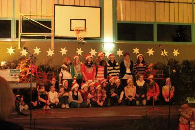 Foto zur Meldung: Weihnachtsabend in der Grund- und Oberschule Schenkenland