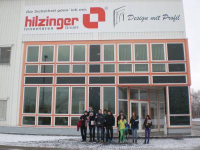 Foto zur Meldung: Klasse 9 besucht Hilzinger