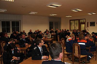 Foto zur Meldung: Die Feuerwehr Calau schaut auf ein arbeitsreiches 2012 zurück