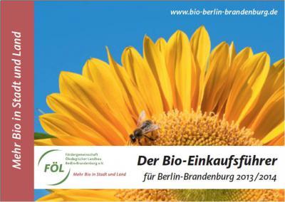 Foto zur Meldung: Bio-Einkaufsführer für Berlin-Brandenburg 2013/2014