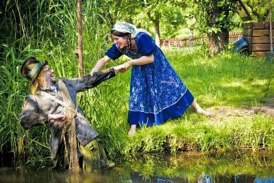 Foto zur Meldung: Die Streiche des Wassermann Lischko