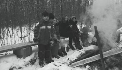 Foto zur Meldung: Waldspaziergang 2013 in Kaltensondheim