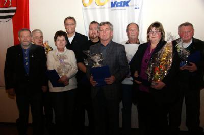Foto zur Meldung: VdK Wenings wählt neuen Vorstand
