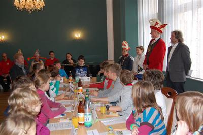 Foto zu Meldung: 1. Calauer Kinderparlament konstituierte sich am Rosenmontag
