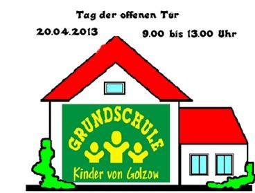 Foto zur Meldung: Einladung zum Tag der offenen Grundschul-Tür in Golzow