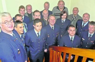Foto zur Meldung: Wehrführer als Vorbild